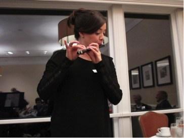 Rachel Ordaz Performs at Pre-Concert Dinner