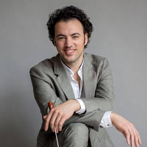 Virginia Symphony Conductor, Eric Jacobsen