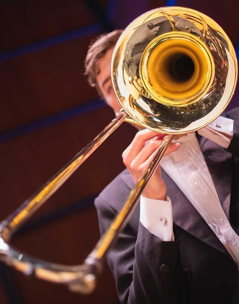 Virginia Symphony Orchestra Brass Musician